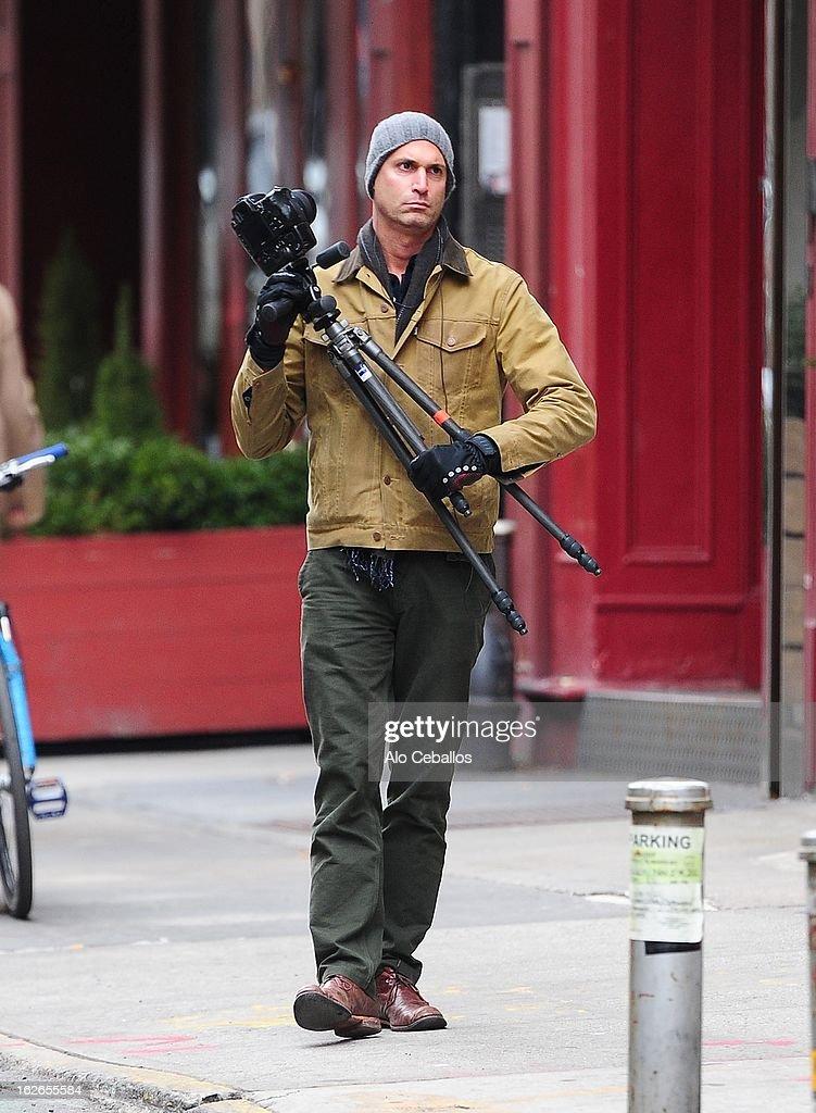 Nigel Barker is seen in Soho on February 25, 2013 in New York City.