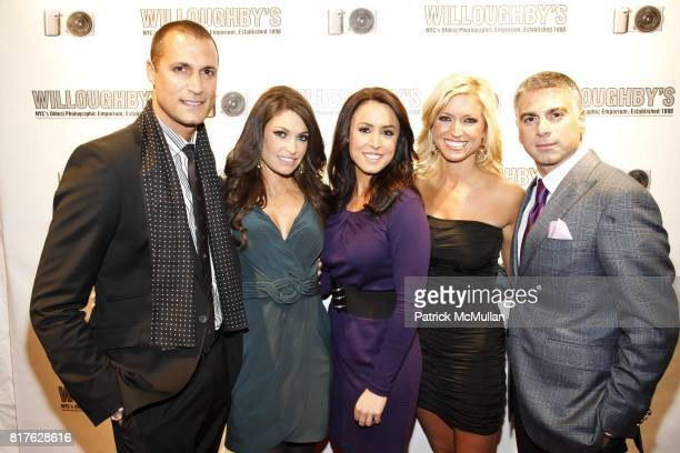 Nigel Barker Kimberley Guilfoyle Andrea Tantaros Ainsley Earhardt and Joseph Douek attend Sony Opening At Willoughby's with Nigel Barker's 'Beauty...