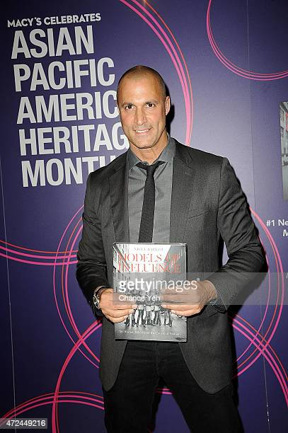 Nigel Barker Visits Macy's Herald Square on May 7 2015 in New York City