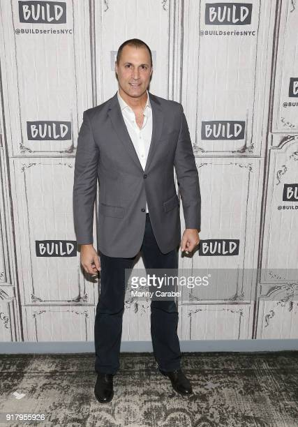 Nigel Barker visits the Build Series at Build Studio on February 13 2018 in New York City