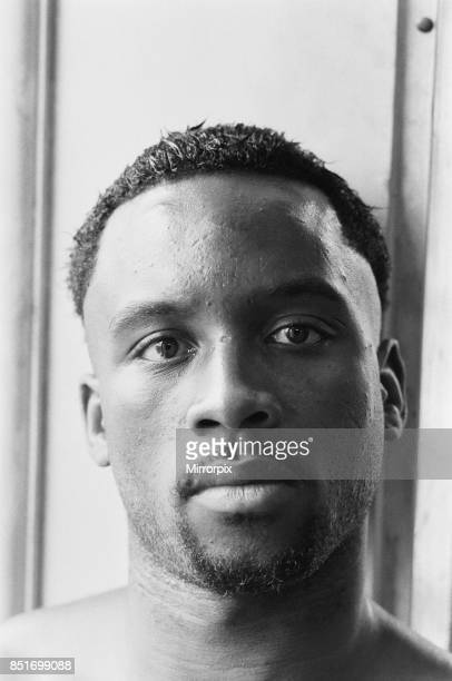 Nigel Benn on a photo shoot ahead of his next fight against American Tim Williams which will be held at the Royal Albert Hall London Benn would go to...