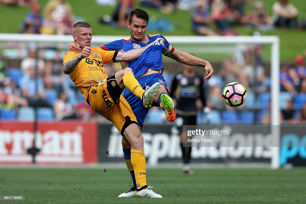 A-League Rd 15 - Newcastle v Perth