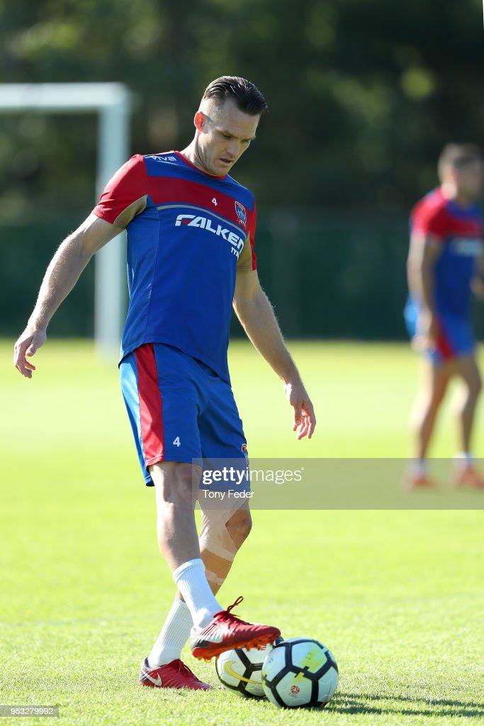 Newcastle Jets Training Session