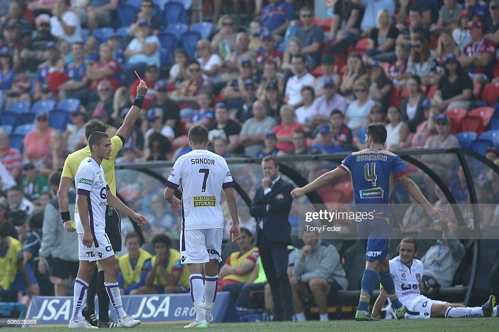 A-League Rd 16 - Newcastle v Perth