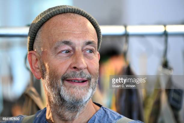 b8bdfb329506b9 Nigel Cabourn backstage prior to his presentation during the London Fashion  Week Men s June 2017 collections