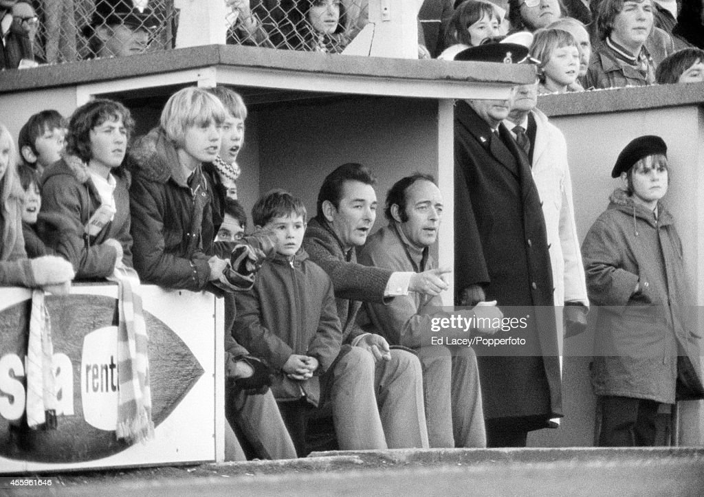 Nigel And Brian Clough : News Photo