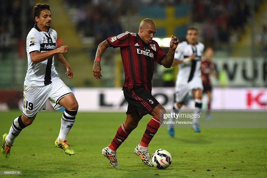 Parma FC v AC Milan - Serie A : News Photo