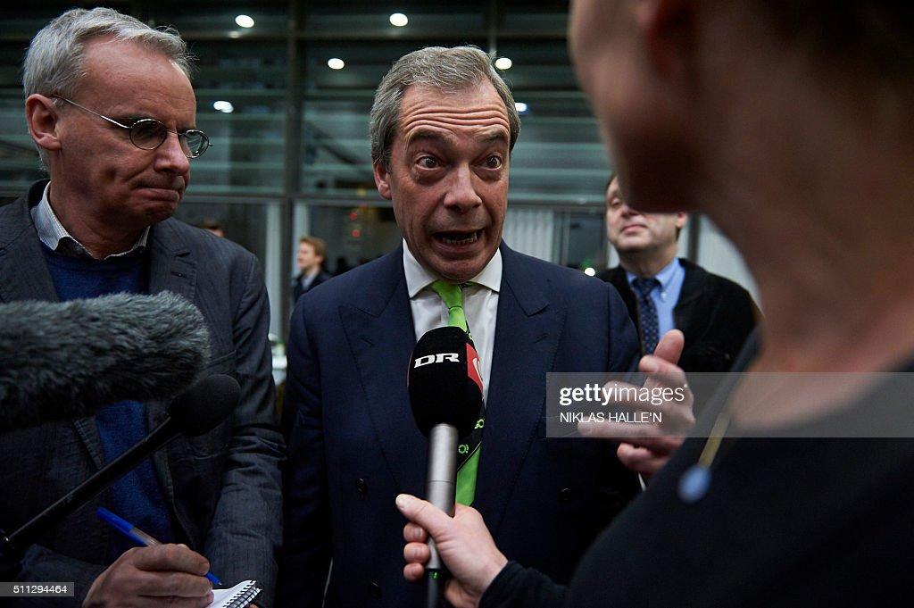 BRITAIN-EU-REFERENDUM : News Photo