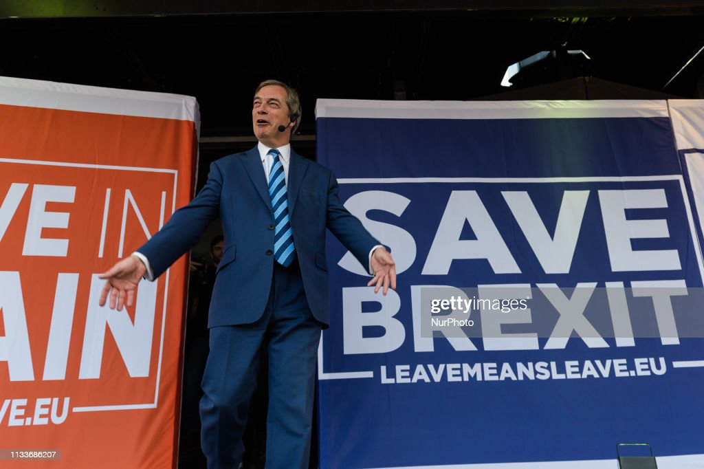 'Leave Means Leave' Rally In London : News Photo