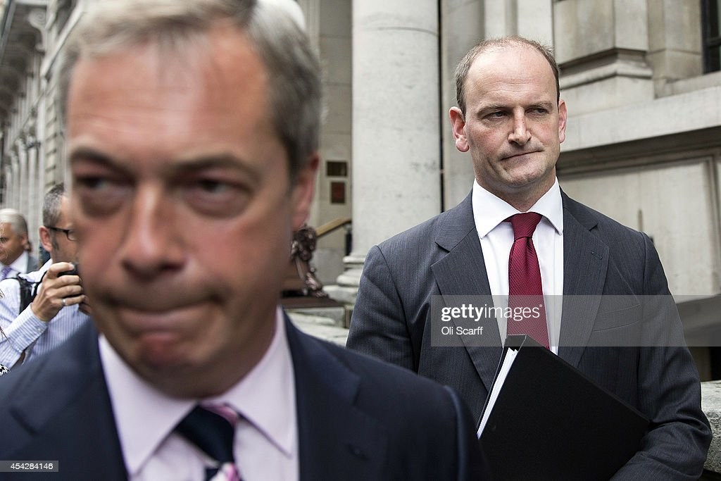 Conservative MP Douglas Carswell Defects To UKIP