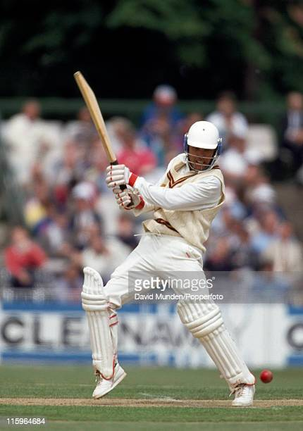 Nigel Felton batting for Northamptonshire during the Benson and Hedges Cup QuarterFinal against Lancashire at Old Trafford Manchester on the 29th May...