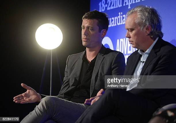 Nigel Gilbert VP Strategic Development EMEA AppNexus and Jeff Moriarty Chief Digital Officer Johnston Press during The Power of Native Video at...