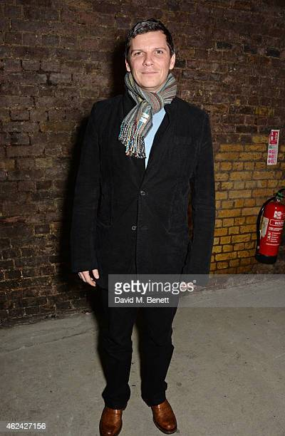 Nigel Harman attends an after party following the Gala Performance of 'The Ruling Class' at The Bankside Vaults on January 28 2015 in London England