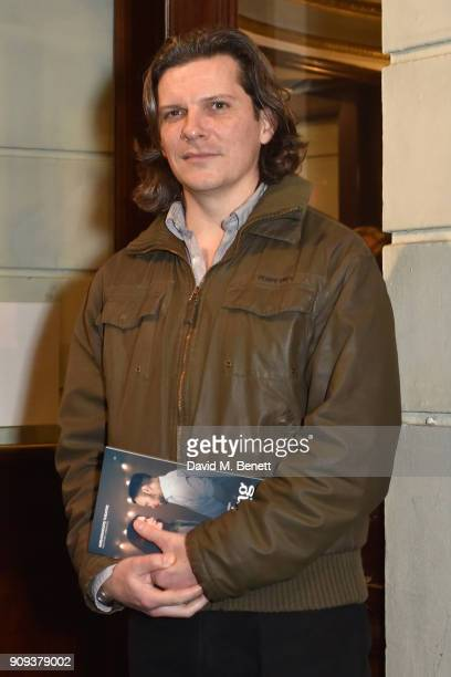 Nigel Harman attends the press night performance of Beginning at the Ambassadors Theatre on January 23 2018 in London England