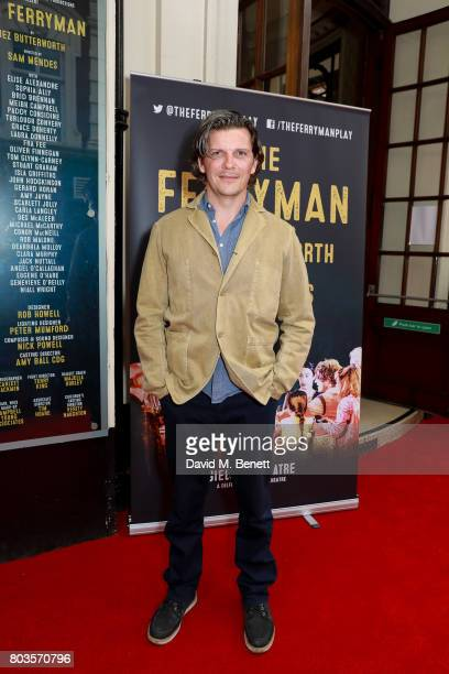 Nigel Harman attends the press night performance of The Ferryman at the Gielgud Theatre on June 29 2017 in London England