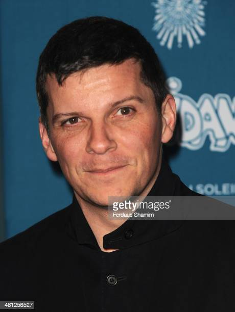 Nigel Harman attends the VIP night for Cirque Du Soleil Quidam at Royal Albert Hall on January 7 2014 in London England