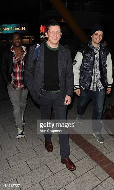 Nigel Harman sighting on January 22 2014 in London England