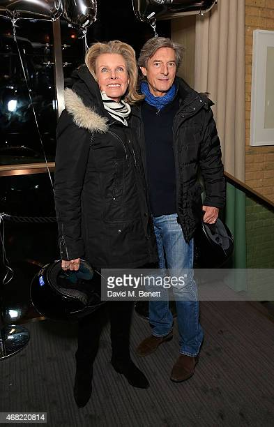 Nigel Havers and Georgiana Bronfman attend as Spectator Life magazine celebrates its third birthday at the Belgraves Hotel on March 31, 2015 in...