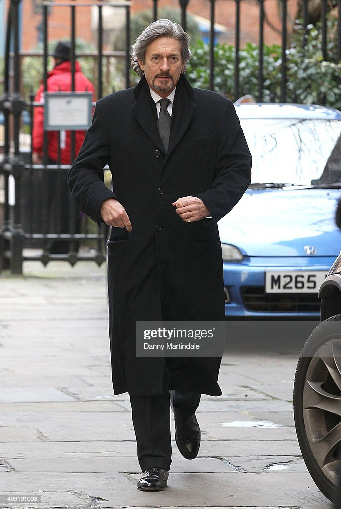 Nigel Havers attends the funeral of actor Roger Lloyd-Pack at St Paul's Church on February 13, 2014 in London, England.