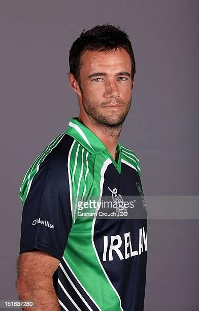 Nigel Jones of Ireland poses on September 12 2012 in Colombo Sri Lanka