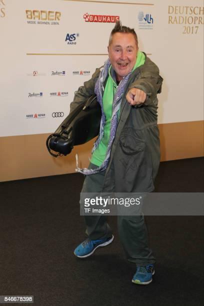 Nigel Kennedy attends the Deutscher Radiopreis at Elbphilharmonie on September 7 2017 in Hamburg Germany 'n