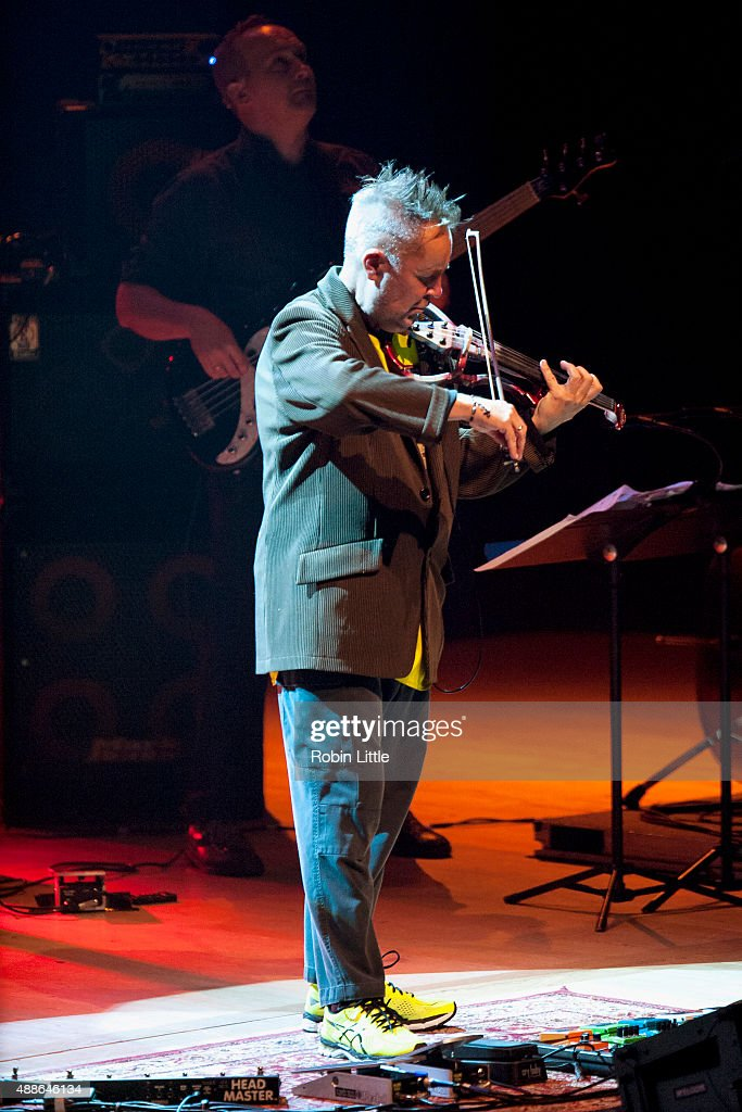 Nigel Kennedy Plays Hendrix At Royal Festival Hall In London