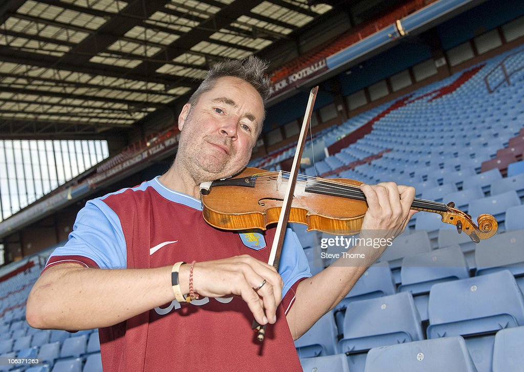 Nigel Kennedy And His Orchestra Perform Rehearsal At Villa FC For His Upcoming UK Tour