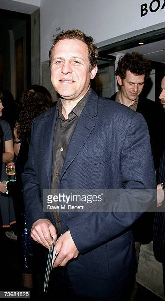 Nigel Lindsay attends the a fundraiser party for the Almeida Theatre at the Almeida Theatre on March 23 2007 in London England