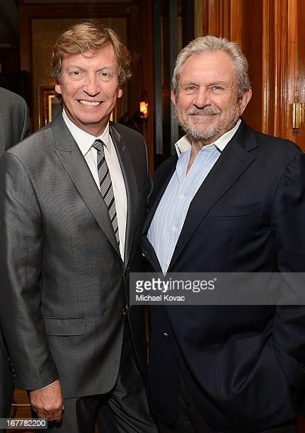 Nigel Lythgoe and BAFTA LA Chairman Gary Dartnall attend BAFTA LA at Digital Hollywood Los Angeles at Ritz Carlton Marina Del Rey on April 29, 2013...