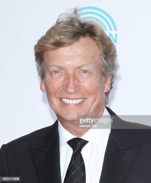 Nigel Lythgoe arrives at The Dizzy Feet Foundation's 4th Annual Celebration of Dance Gala held at Dorothy Chandler Pavilion on July 19 2014 in Los...