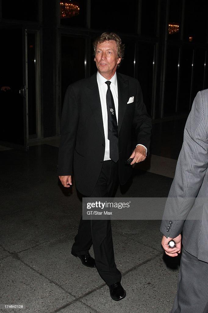Nigel Lythgoe as seen on July 27, 2013 in Los Angeles, California.