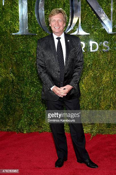 Nigel Lythgoe attends the 2015 Tony Awards at Radio City Music Hall on June 7 2015 in New York City