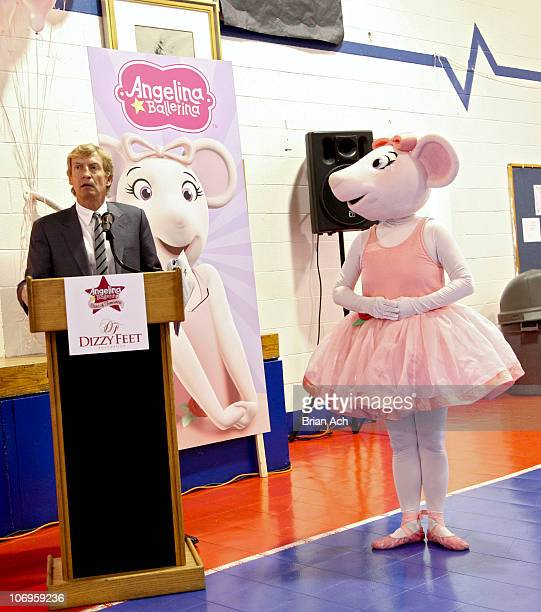Nigel Lythgoe Executive Producer to 'American Idol' and 'So You Think You Can Dance' and Angelina Ballerina attend First Angelina Ballerina Stars of...