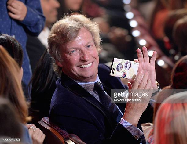 Nigel Lythgoe in the audience during 'American Idol' XIV Grand Finale at Dolby Theatre on May 13 2015 in Hollywood California