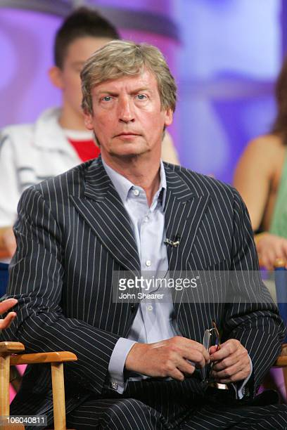 Nigel Lythgoe of So You Think You Can Dance during Fox Summer 2006 TCA Press Tour at Ritz Carlton in Pasadena California United States
