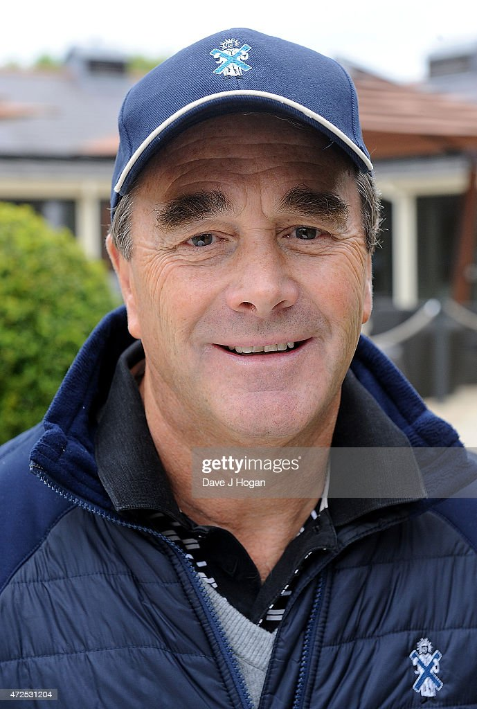 Nigel Mansell attends the ISPS Handa Mike Tindall 3rd Annual Celebrity Golf Classic at The Grove Hotel on May 8, 2015 in Hertford, England.