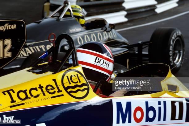 Nigel Mansell Ayrton Senna Grand Prix of Europe Brands Hatch 06 October 1985