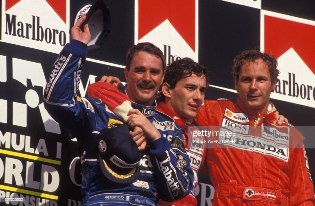 Nigel Mansell Champion Du Monde De Formule 1 : News Photo
