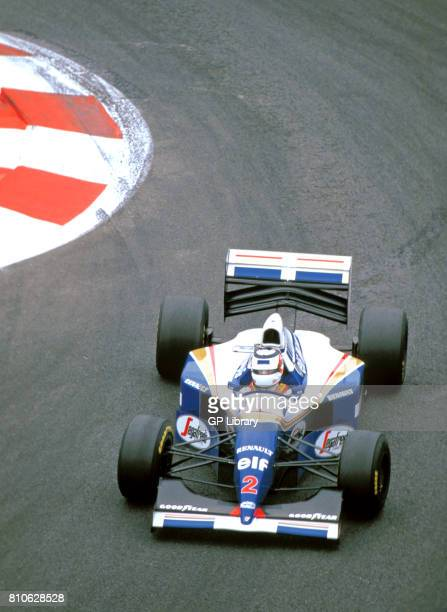 Nigel Mansell driving a Williams FW16 at Ricard French GP