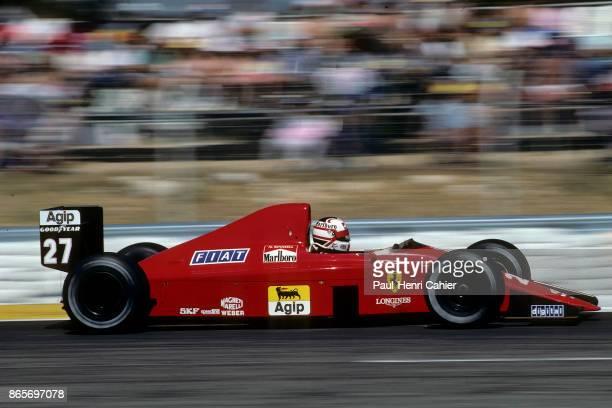 Nigel Mansell Ferrari 640 Grand Prix of France Circuit Paul Ricard 09 July 1989