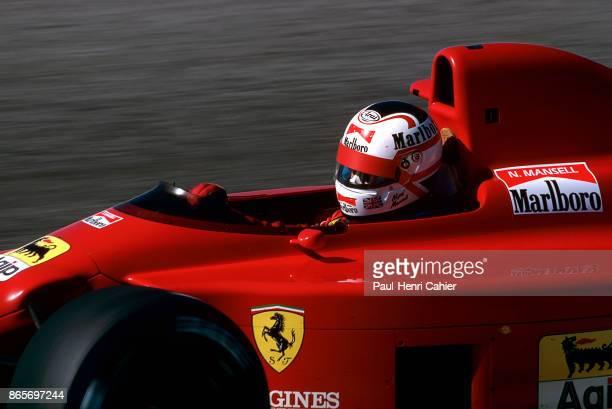 Nigel Mansell Ferrari 640 Grand Prix of Portugal Autodromo do Estoril 24 September 1989