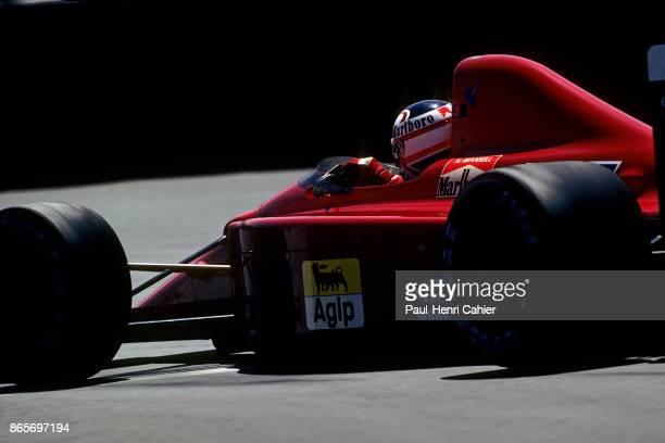 Nigel Mansell Ferrari 640 Grand Prix of the United States Phoenix street circuit 04 June 1989