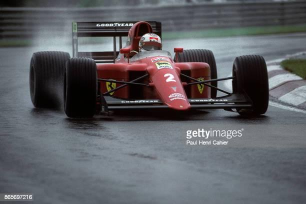 Nigel Mansell Ferrari 641 Grand Prix of Canada Circuit Gilles Villeneuve 10 June 1990