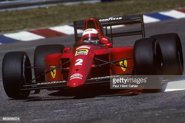 Nigel Mansell Ferrari 641 Grand Prix of Germany Hockenheimring 29 July 1990
