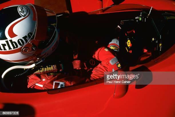 Nigel Mansell Ferrari 641 Grand Prix of Great Britain Silverstone Circuit 15 July 1990