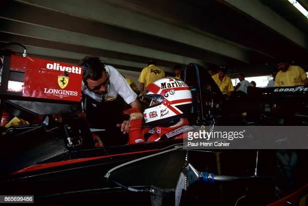 Nigel Mansell Ferrari 641 Grand Prix of Mexico Autodromo Hermanos Rodriguez Magdalena Mixhuca 24 June 1990