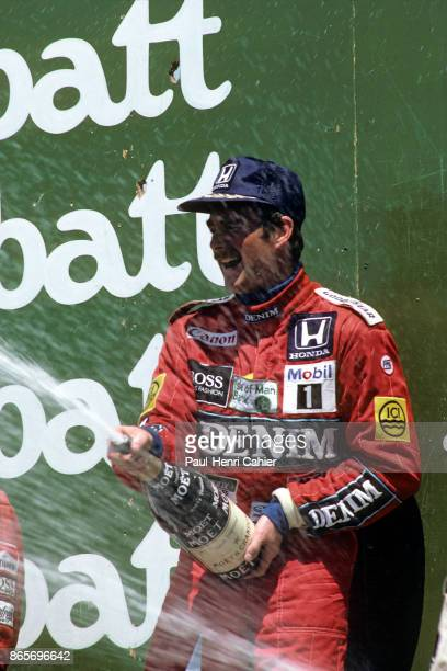 Nigel Mansell, Grand Prix of Canada, Circuit Gilles Villeneuve, 15 June 1986.