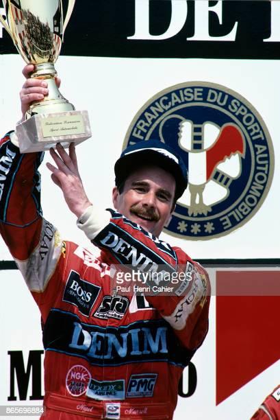 Nigel Mansell, Grand Prix of France, Circuit Paul Ricard, 05 July 1987.