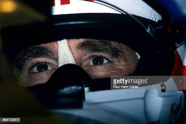 Nigel Mansell Grand Prix of Great Britain Silverstone Circuit 12 July 1992