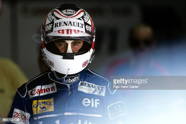 Nigel Mansell Grand Prix of Spain Circuit de BarcelonaCatalunya 03 May 1992